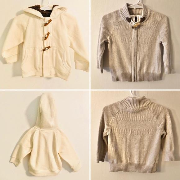 OshKosh B'gosh Other - Lot / Bundle 2 Oshkosh Jacket Sweater 12 Months